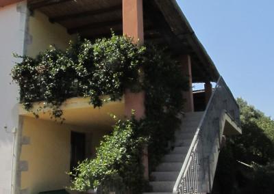 scala di accesso appartamento