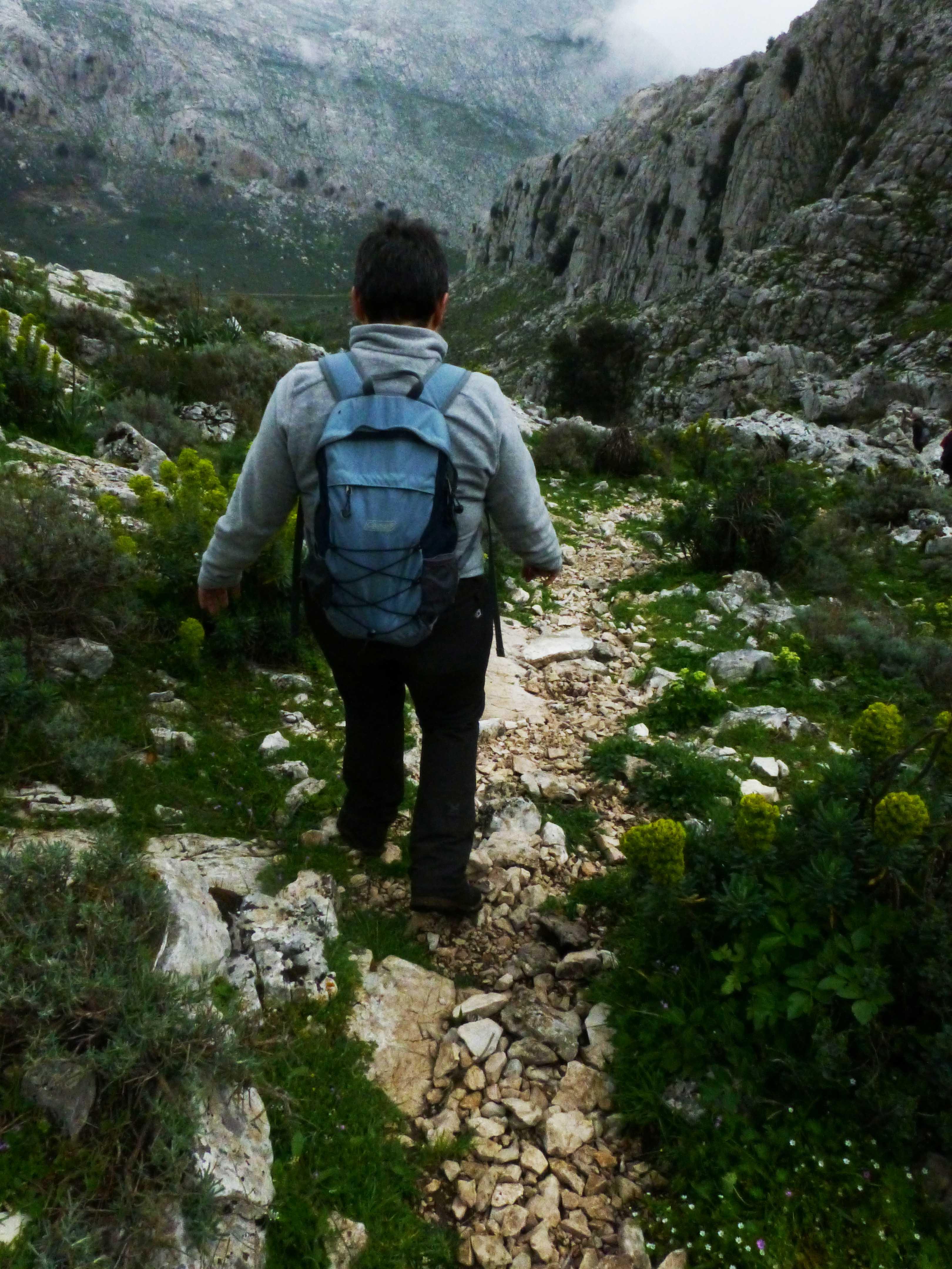 montalbo . il trekking